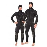 Duikpak Waterproof W Overvest met Kap